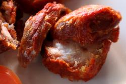 Fried turkey tail, Mama G African Kitchen, Williamsbridge, Bronx
