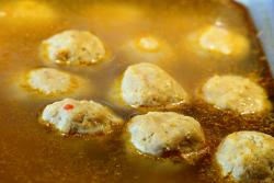 Chicken meatballs, Nene Jaara, Foxhurst, Bronx
