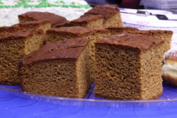 Honey cake, Ukrainian Museum Christmas Bazaar, East 6th St, Manhattan