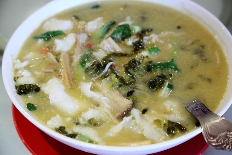 Chengdu fish filet with pickled vegetables, Legend of Taste