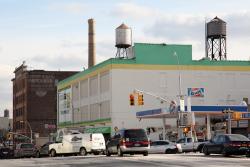 Schorsch & Co, paper bag manufacturers, surviving signage, Mott Haven, Bronx