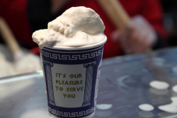 Uyghur ice cream  Erqal  New World Mall food court  Flushing  Queens