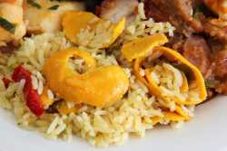 Rice with pequi  Minas Grill  Astoria  Queens