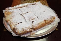 Custard-filled feteer  King Tut Pie  Bay Ridge  Brooklyn