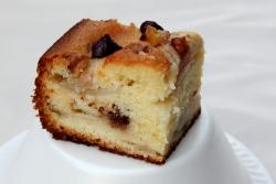 Pear-walnut-chocolate cake  St George Ukrainian Festival  East 7th St  Manhattan