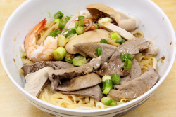 Teochew noodles  Bo Ky  Bayard St  Manhattan