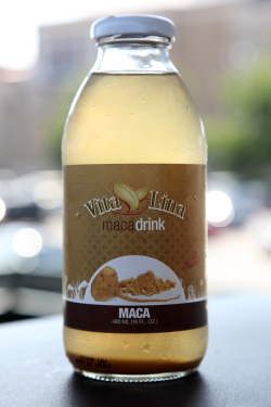 Vita Lina brand maca drink  Stop 1 General Market  Port Chester  New York