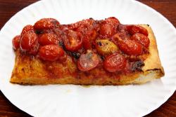 Sicilian-style marinara-and-tomato slice  Famous Ben's Pizza of Soho  Spring St  Manhattan