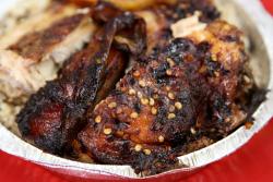 Jerk chicken  Soo Jamaica Caribbean Restaurant  Wakefield  Bronx