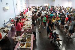 Indonesian bazaar at St James Episcopal Church  Elmhurst  Queens