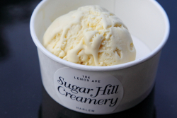Corn-jalapeno ice cream  Sugar Hill Creamery  Lenox Ave  Manhattan