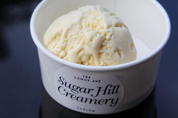 Corn-jalapeno ice cream  Sugar Hill Creamery  Lenox Ave  Manhattan