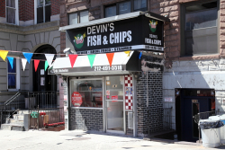Devin's Fish & Chips  St Nicholas Ave  Manhattan