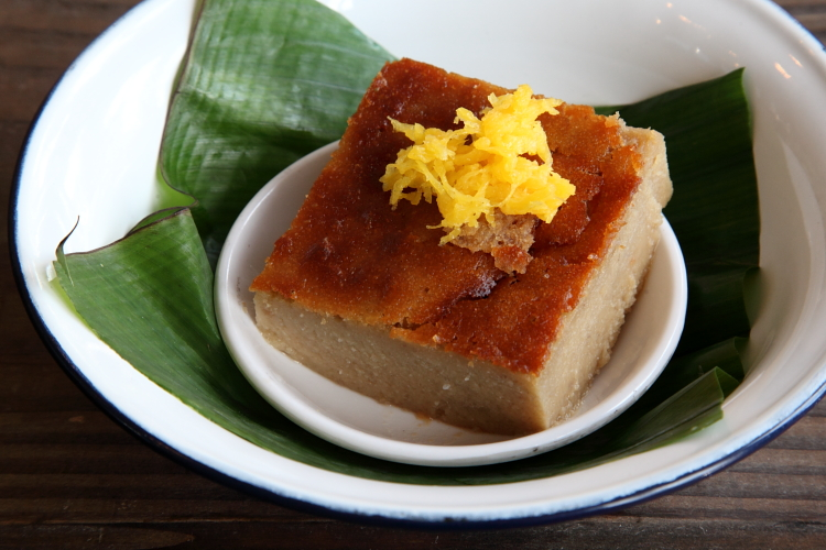 Cassava cake  Khao Nom  Elmhurst  Queens