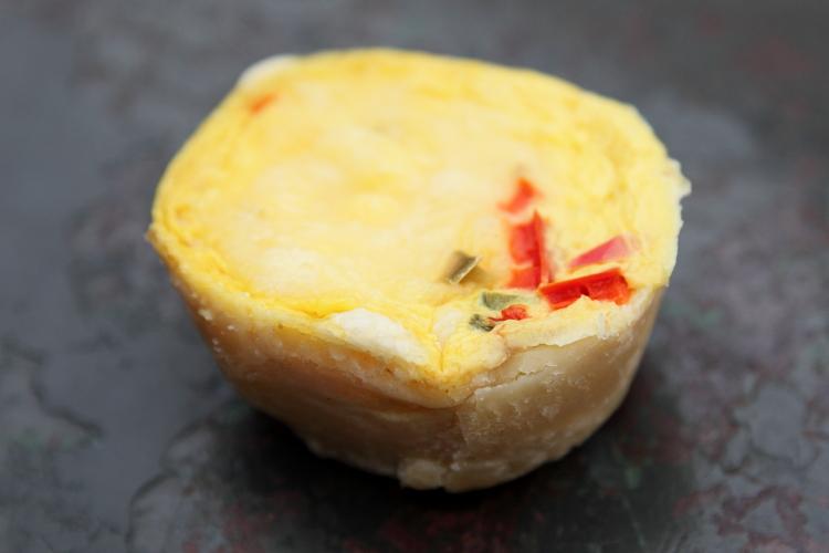 Guyanese cheese pie  East Coast Restaurant  Prospect Lefferts Gardens  Brooklyn