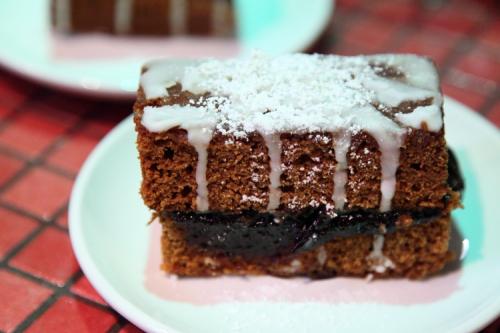 Piparkoogi kook (gingerbread cake)  Estonian Christmas Bazaar  New York Estonian House  East 34th St  Manhattan
