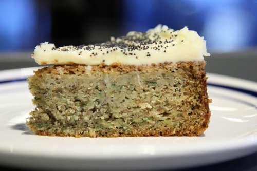 Lemon poppy-seed cake  L'Impremerie  Bushwick  Brooklyn