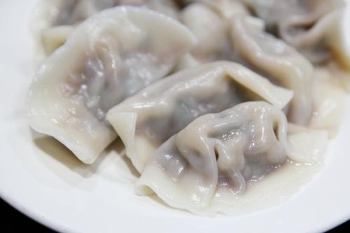 Boiled dumplings  88 Lan Zhou Handmade Noodle & Dumpling  Bowery  Manhattan