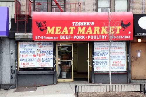 Tesser's Meat Market  Jamaica  Queens