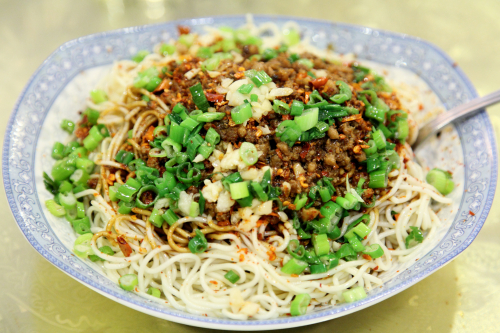 Yibin burning noodles  Grain House  Little Neck  Queens