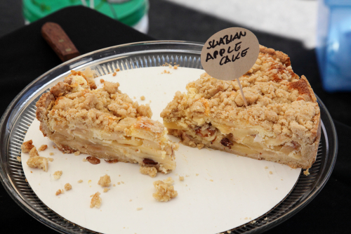 Swabian apple cake  Sweet & Salzig  Grand Bazaar NYC  Columbus Ave  Manhattan