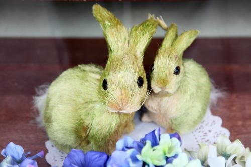 Easter bunnies  Homestead Gourmet Shop  Kew Gardens  Queens