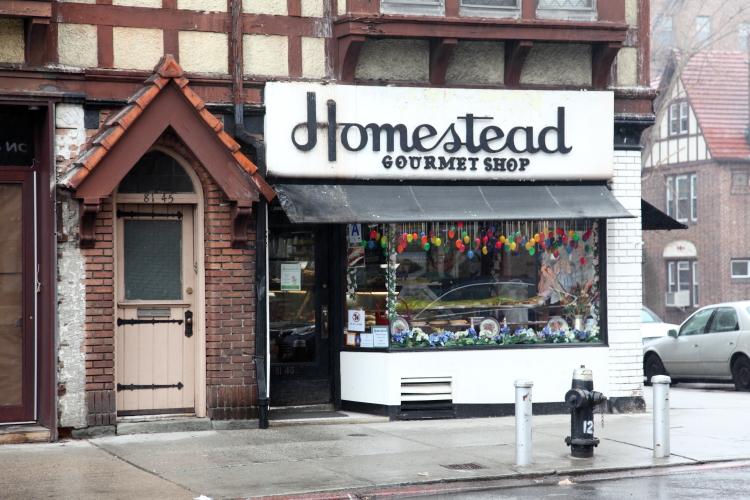 Homestead Gourmet Shop  Kew Gardens  Queens