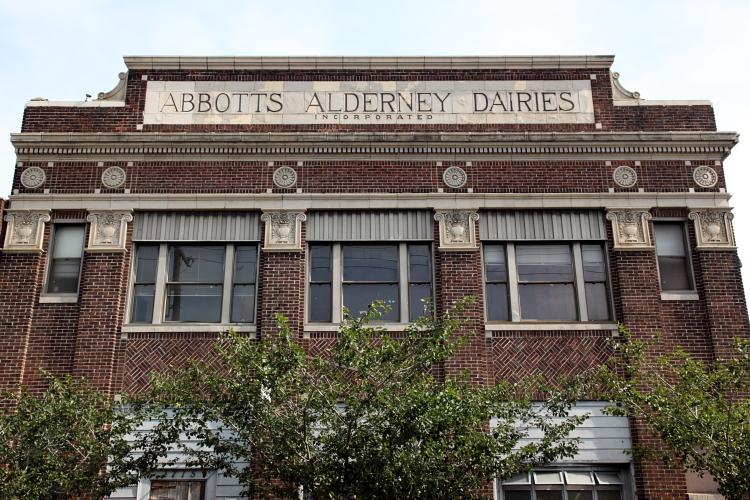 The former Abbott's Alderney Dairies, Philadelphia