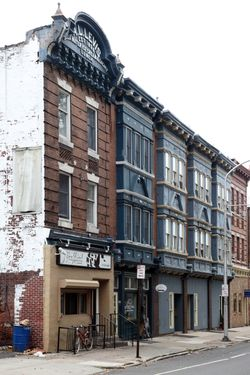 %22A L Levis, est 1896, soda water ice cream & light lunch,%22 surviving signage, Philadelphia