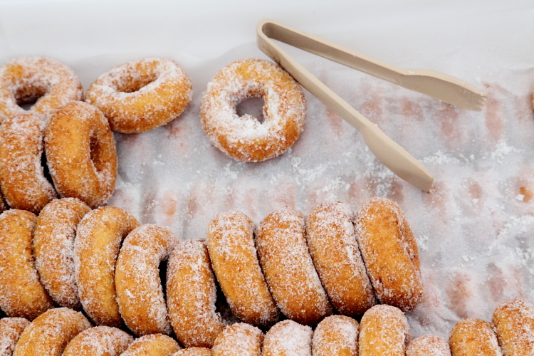 Butternut doughnuts, Rockville Market Farm, Smorgasburg, Williamsburg, Brooklyn