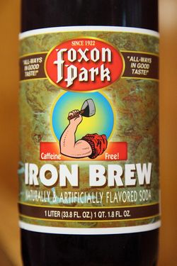 Foxon Park Iron Brew, Zuppardi's Apizza, West Haven, Connecticut