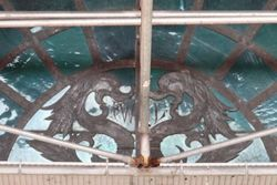 The former Lundy's, surviving doorway decoration, Sheepshead Bay, Brooklyn