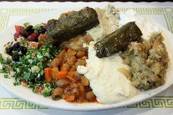 Cold appetizer sampler, Beyti Turkish Kebab, Brighton Beach, Queens