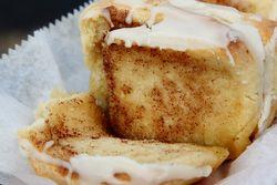 Cinnamon bun (peel-apart view), New Orleans Cake Cafe & Bakery, New Orleans
