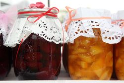 Grandma's homemade strawberry and orange jams, TCCNJ Spring Festival, Leonia, New Jersey