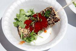 Vegetarian %22Dracula popsicle,%22 Passport to Taiwan, Union Square, Manhattan