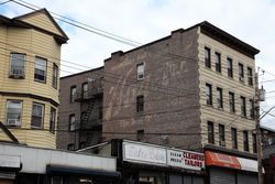 Surviving signage, Yonkers, New York
