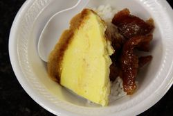 Egg and pork on rice, AC Sandwiches (Banh Mi AC), Atlantic City, New Jersey
