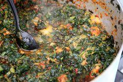 Spinach, Nigerian Independence Day Festival, Dag Hammarskjold Plaza, East 47th St, Manhattan