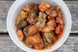 Gizdodo, DF Nigerian Gourmet Food Truck, Second Ave, Manhattan