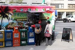 DF Nigerian Gourmet Food Truck, Second Ave, Manhattan