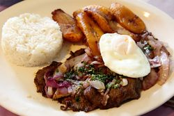 Casado Costarricense, La Posada Restaurante, Clifton, New Jersey