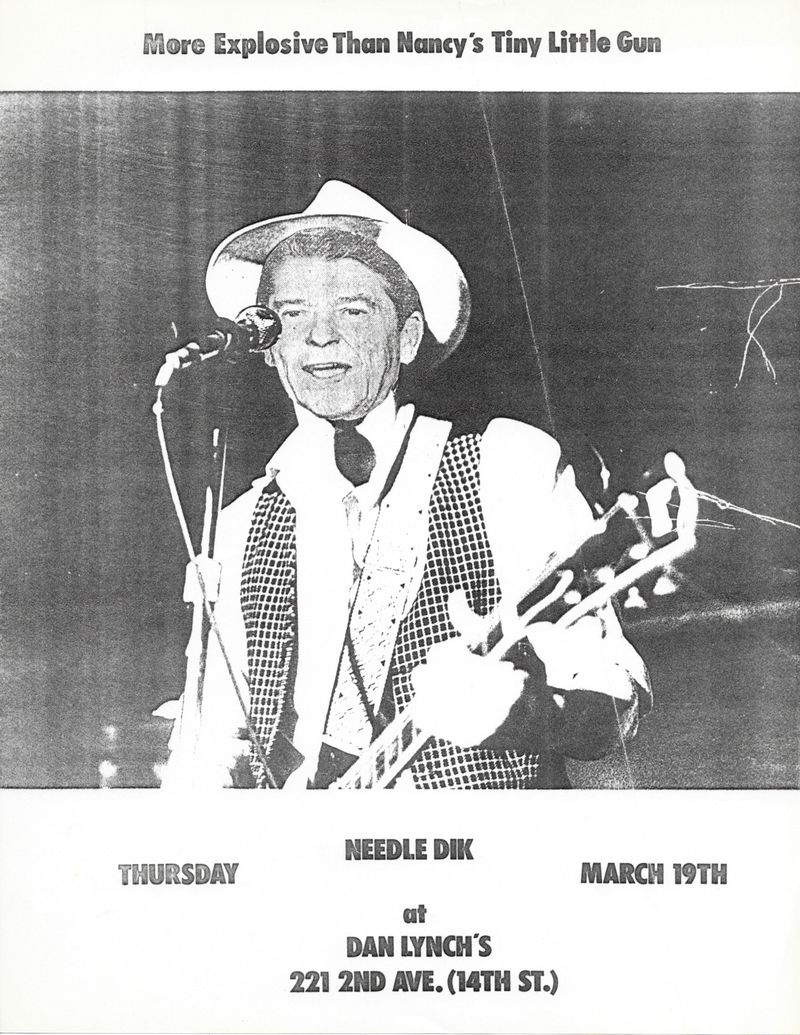 Needle Dik, Dan Lynch Blues Bar (Nancy's tiny little gun)