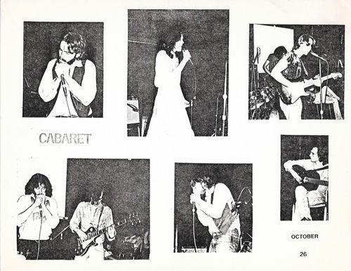 Needle Dik, Cabaret (six photos)