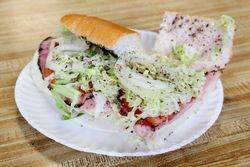 Bellybuster, Big Stash's Sub House, Kearny, New Jersey
