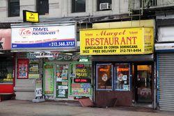 Margot Restaurant and neighbor, Broadway, Manhattan