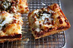 Hatchback pizza, Emmy Squared, Williamsburg, Brooklyn