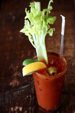 Bloody Mary, Mable's Smokehouse, Williamsburg, Brooklyn