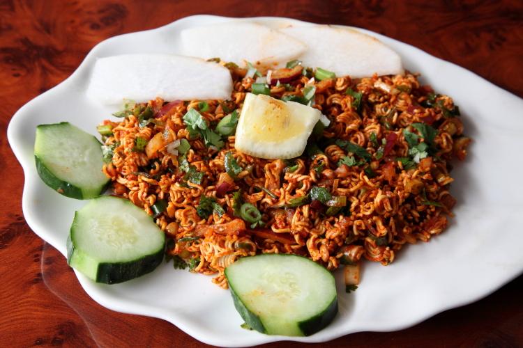 Sandheko Wai Wai, Dhaulagiri Kitchen, Lexington Ave, Manhattan