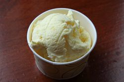 Jackfruit ice cream, Torico Homemade Ice Cream Parlor, Jersey City